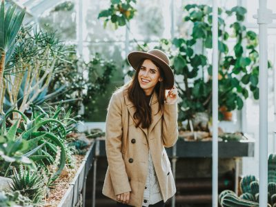 Ally in a Bright Seattle Greenhouse