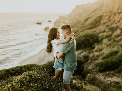 Adventurous Malibu Beach Couples Session